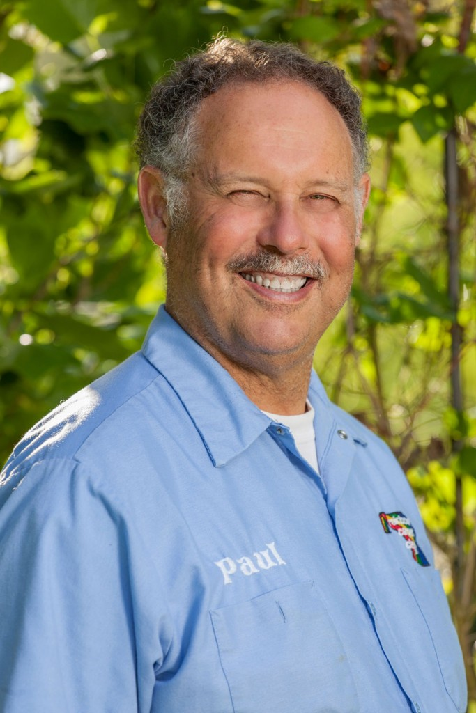 Paul, Owner of Rainbow Carpet Cleaning and chief wand pusher